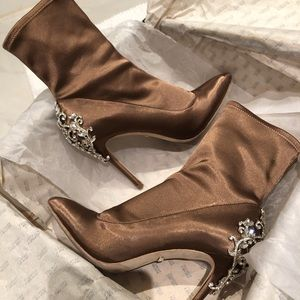 BADGLEY MISCHKA NUDE BOOTIES